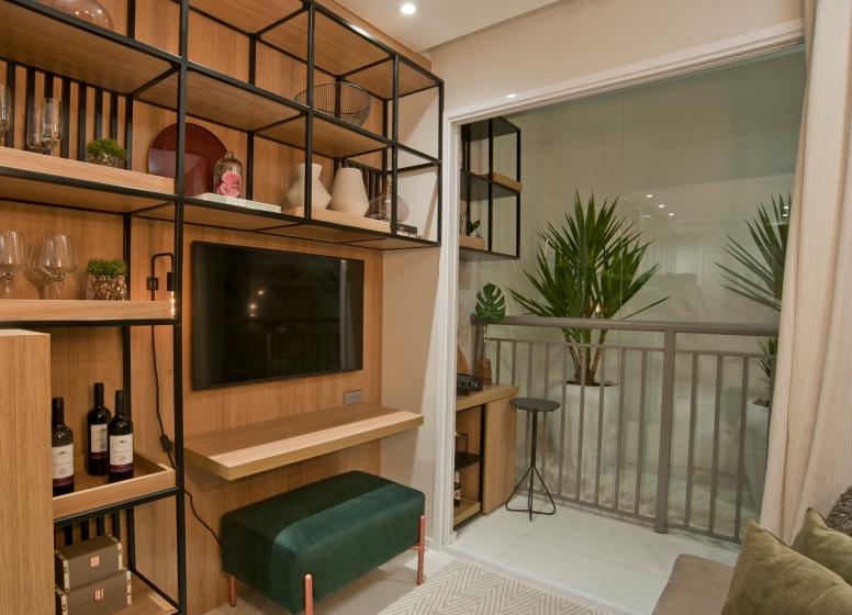 Living - 28m² - Vista Parque by Plano&Plano