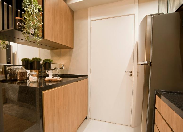 Área de Serviço e Cozinha - 28m² - Vista Parque by Plano&Plano