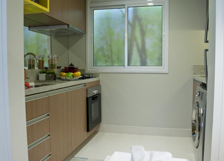 Cozinha e A/S - 37,67m² - Plano&Reserva do Carmo