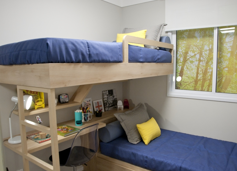 Dormitório II - 37,67m² - Plano&Reserva do Carmo