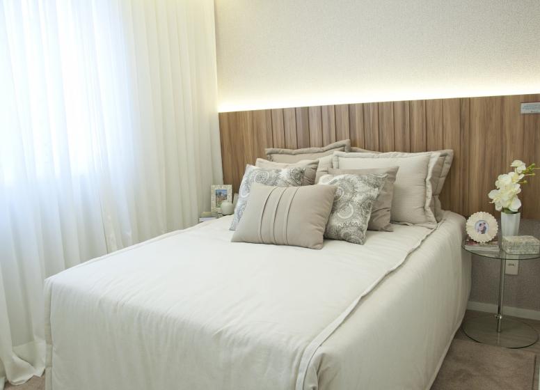 Dormitório I - 37,67m² - Plano&Reserva do Carmo