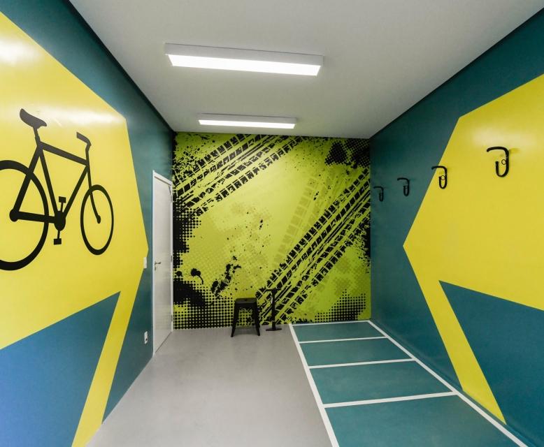 Bicicletário - HUM Liberdade