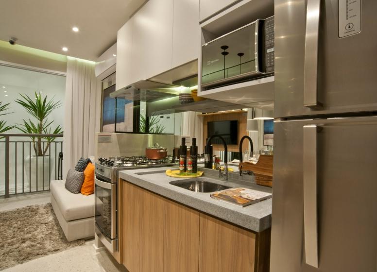Cozinha - 34m² - Plano&Mooca Praça Lion II