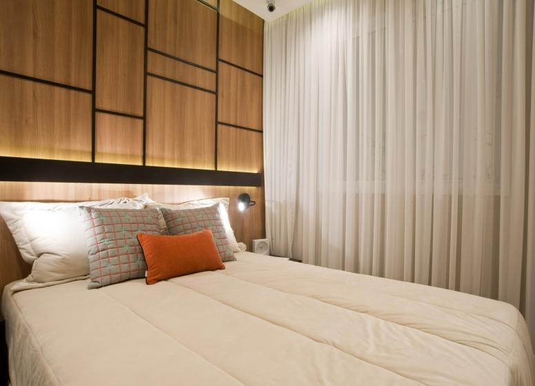 Dormitório I - 34m² - Plano&Mooca Praça Lion II