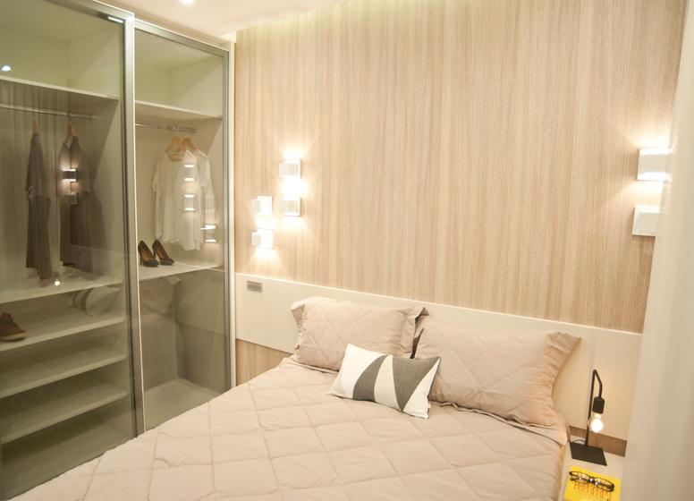 Dormitório I - decorado 34m² - Plano&Iguatemi - Santa Teresa I