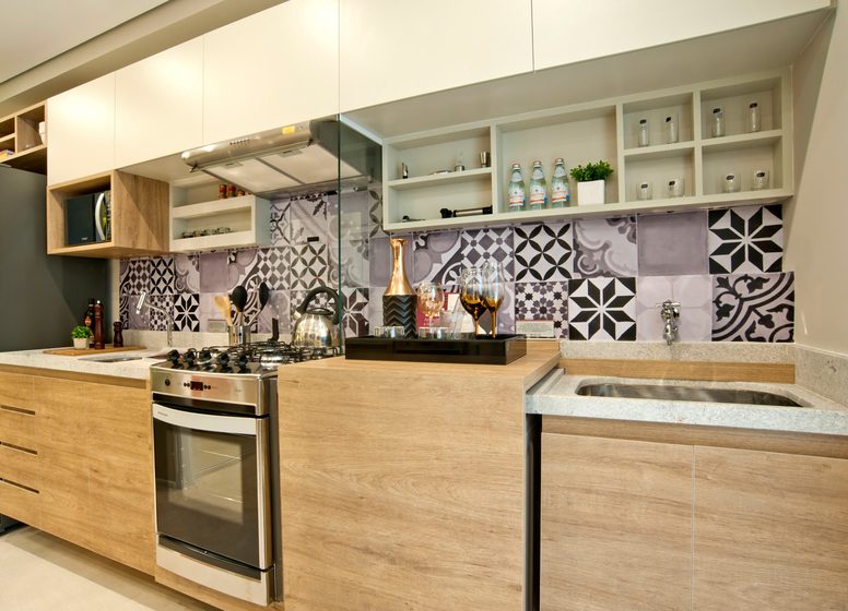 Cozinha - decorado 34m² - Plano&Iguatemi - Santa Teresa I