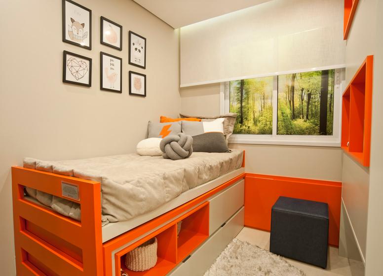 Dormitório II - decorado 34m² - Plano&Iguatemi - Santa Teresa I