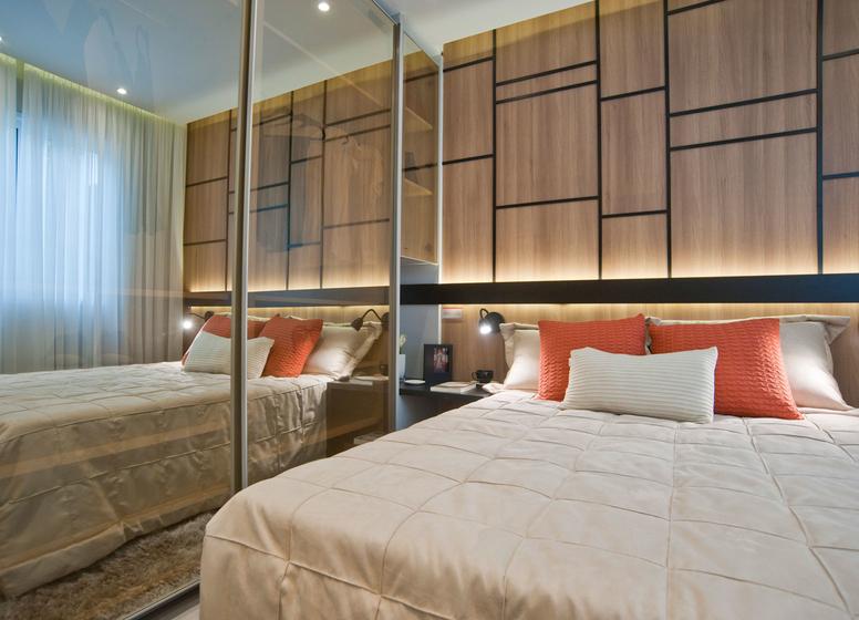 Dormitório I - 32m²  - Antônio Gomes II