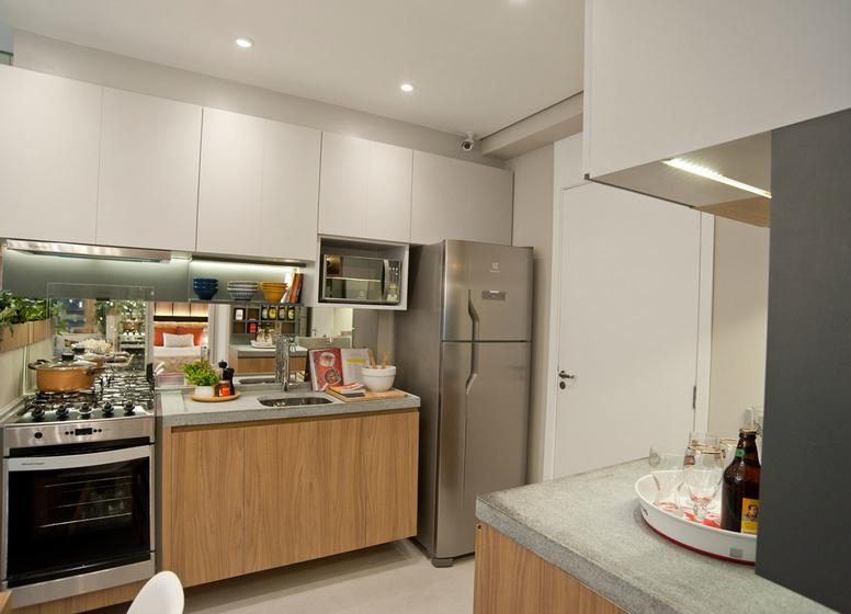 Cozinha - 32,06m² - Plano&Jardim Planalto