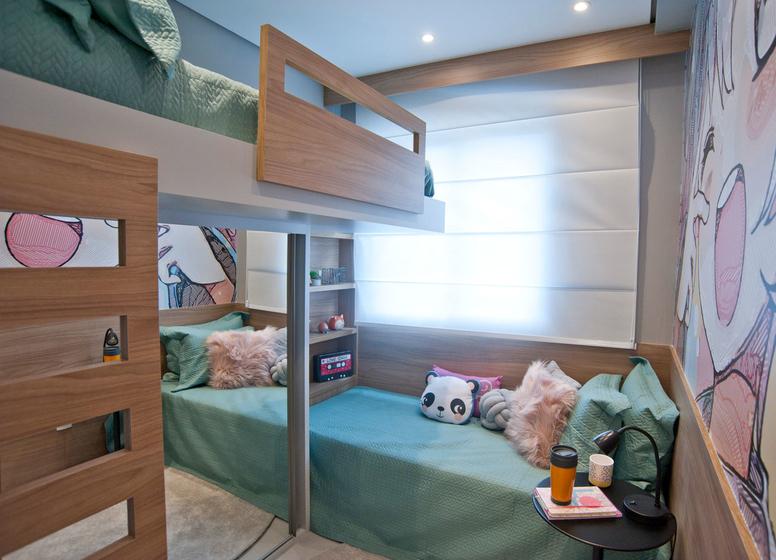 Dormitório II - 32,06m² - Plano&Jardim Planalto
