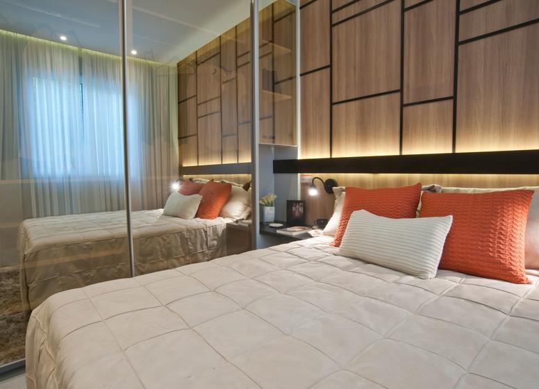 Dormitório I - 32,06m² - Plano&Jardim Planalto