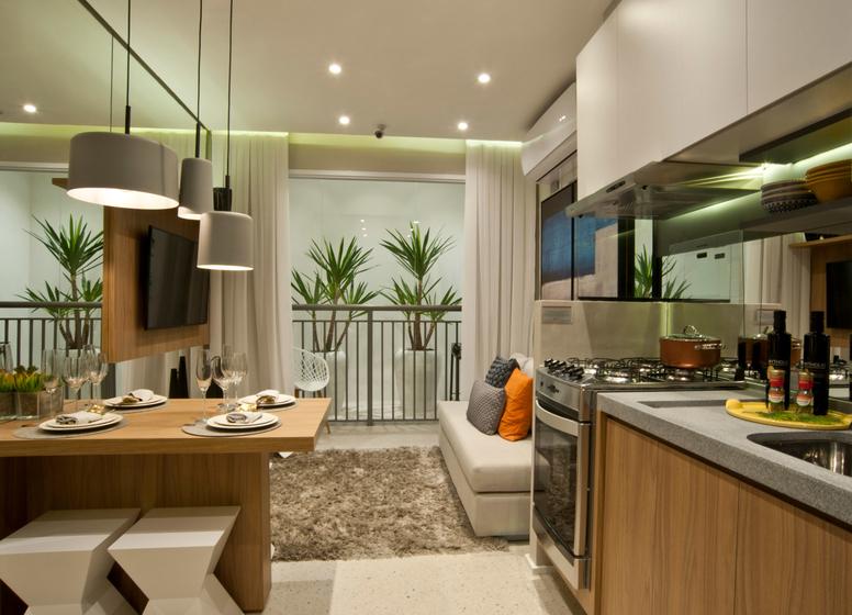 Cozinha - 34m² - Plano&Mooca Praça Lion III