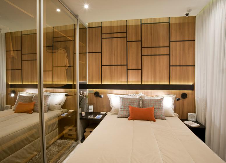 Dormitório I - 34m² - Plano&Mooca Praça Lion III