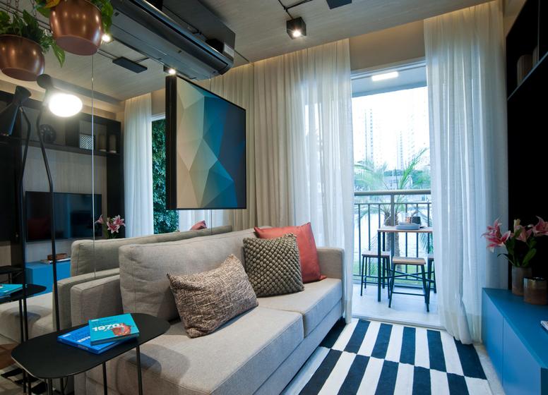 Living - 26 m² - Laguna 380
