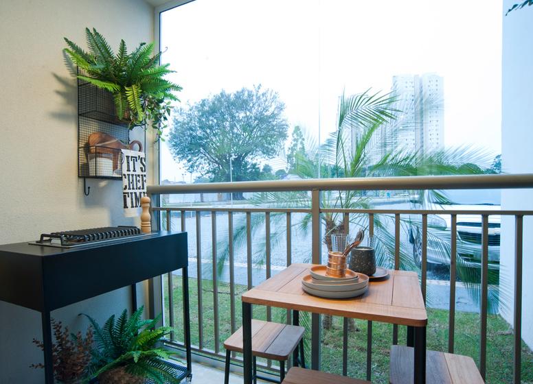Terraço - 26 m² - Laguna 380