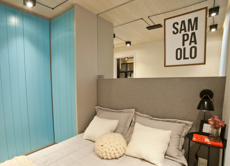 Dormitório - 26 m² - Laguna 380