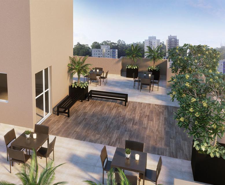 Rooftop (Vila Ema) - Perspectiva Ilustrada - Portal Vila Prudente