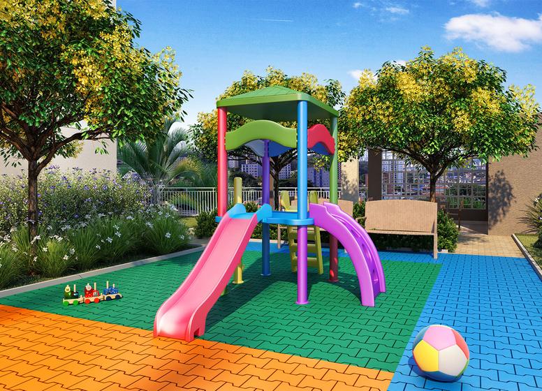 Playground - Perspectiva Ilustrada (Vila Ema) - Vila Ema
