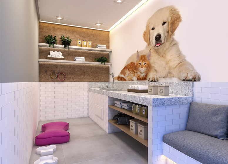 Pet Care - Perspectiva Ilustrada (Vila Ema) - Vila Ema