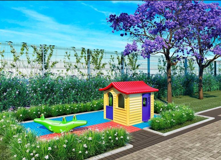 Perspectiva Ilustrada - Playground - Plano&Estação Piqueri I
