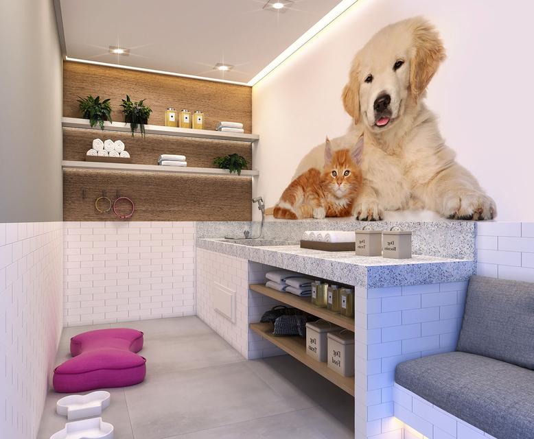 Pet Care - perspectiva ilustrada - Vista Parque by Plano&Plano
