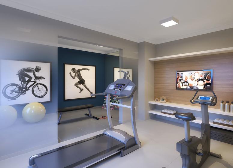 Perspectiva Ilustrada - Fitness - Plano&Vista do Carmo II