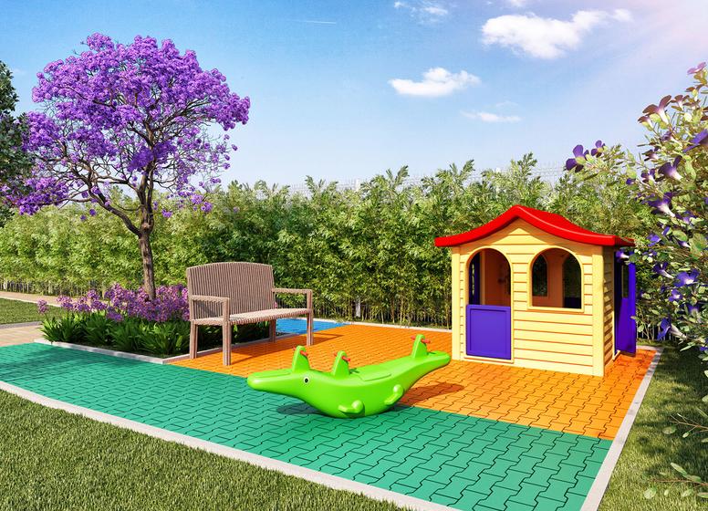 Playground - Perspectiva Ilustrada - Vila Pacaembu