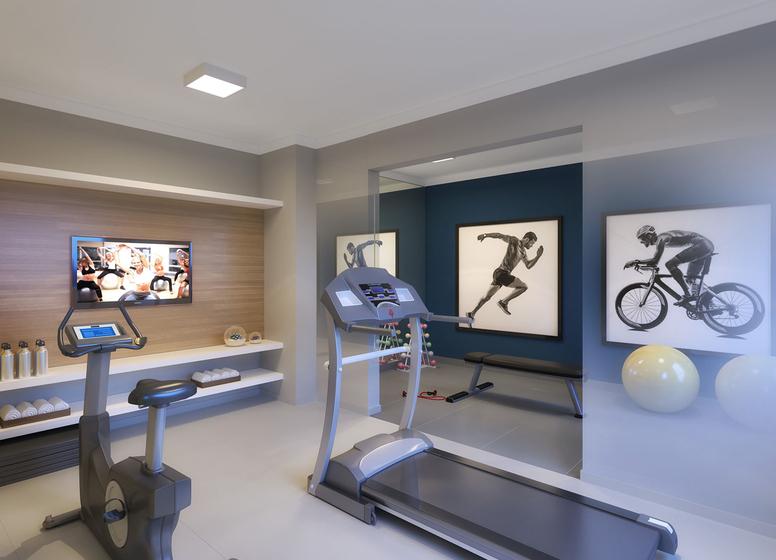 Fitness - Perspectiva Ilustrada - Plano&Parque do Nabuco II