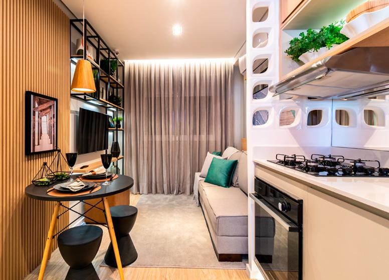 Cozinha - 26m² (decorado) - Plano&Estação Giovanni Gronchi