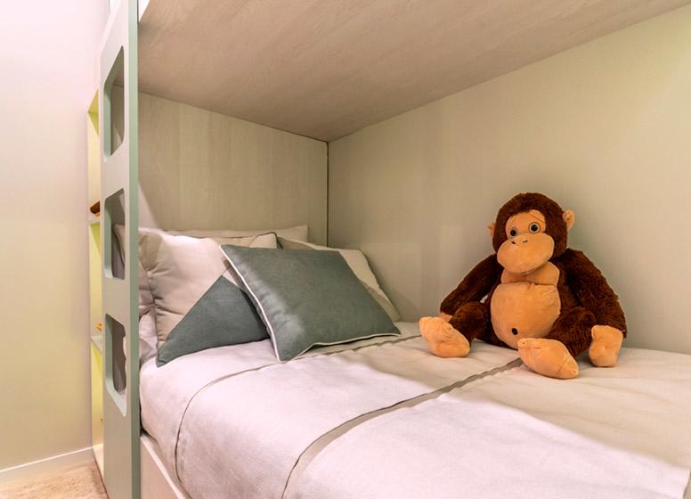 Dormitório I - 32m² (decorado) - Plano&Alto do Jaraguá II