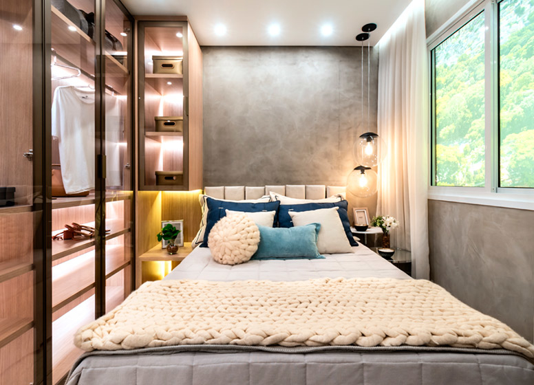 Dormitório II - 32m² (decorado) - Curuçá I