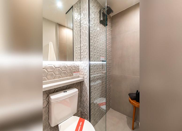 Banho - 32m² (decorado) - Curuçá I