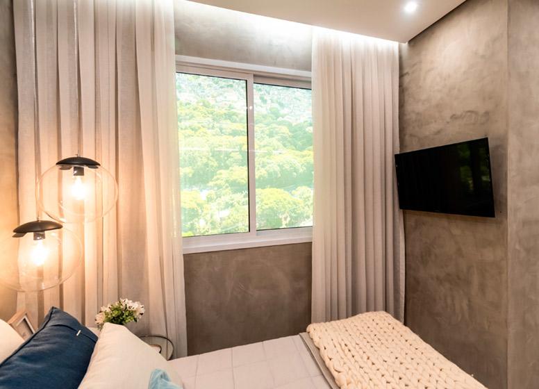 Dormitório II - 32m² (decorado) - Plano&Curuça III