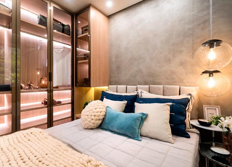Dormitório II - 32m² (decorado) - Edvard Carmilo III