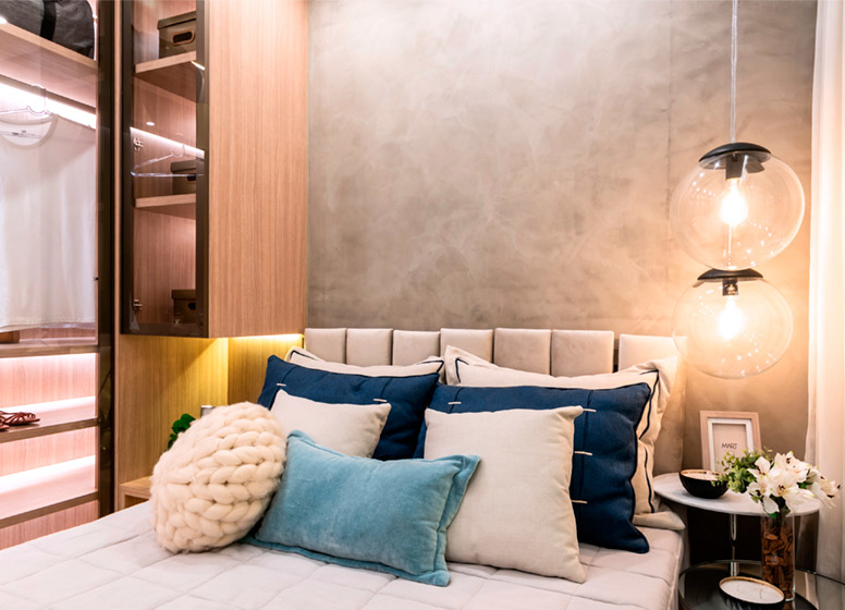 Dormitório II - 32m² (decorado) - Plano&Mais Cambuci