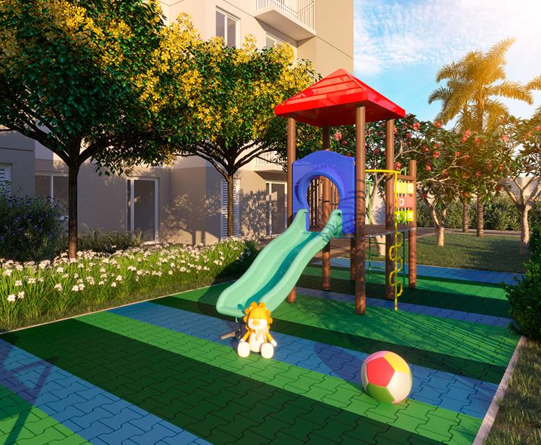 Playground - Perspectiva Ilustrada - Plano&Vila Guilherme
