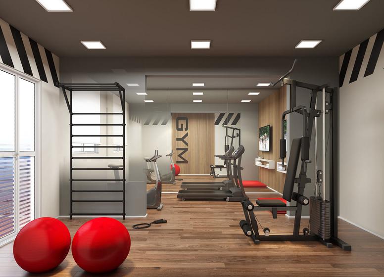 Fitness - Perspectiva Ilustrada - Plano&Vila Guilherme