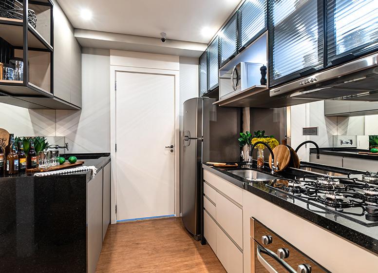 Cozinha - 29m² (decorado) - Plano&Estação Giovanni Gronchi