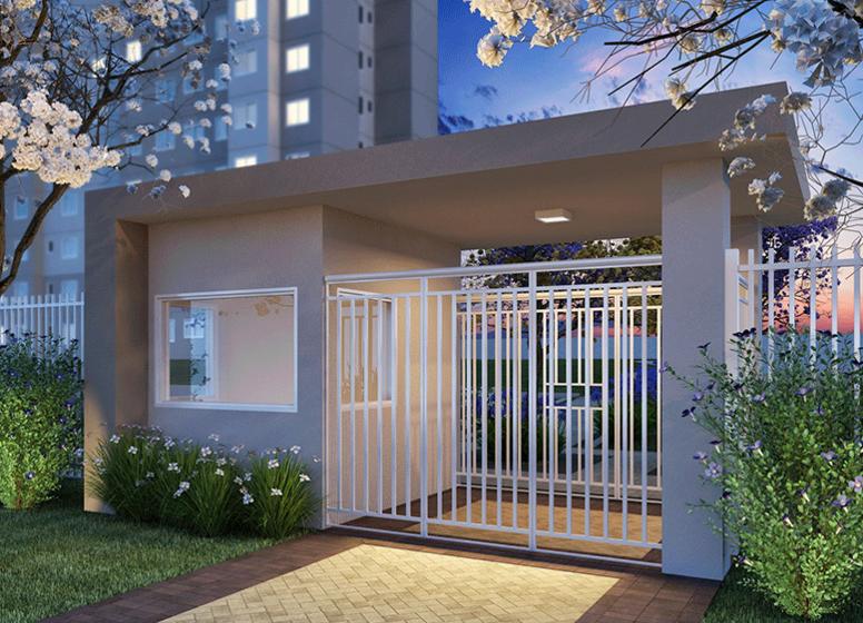 Portaria - Perspectiva Ilustrada - Plano&Jardim do Carmo