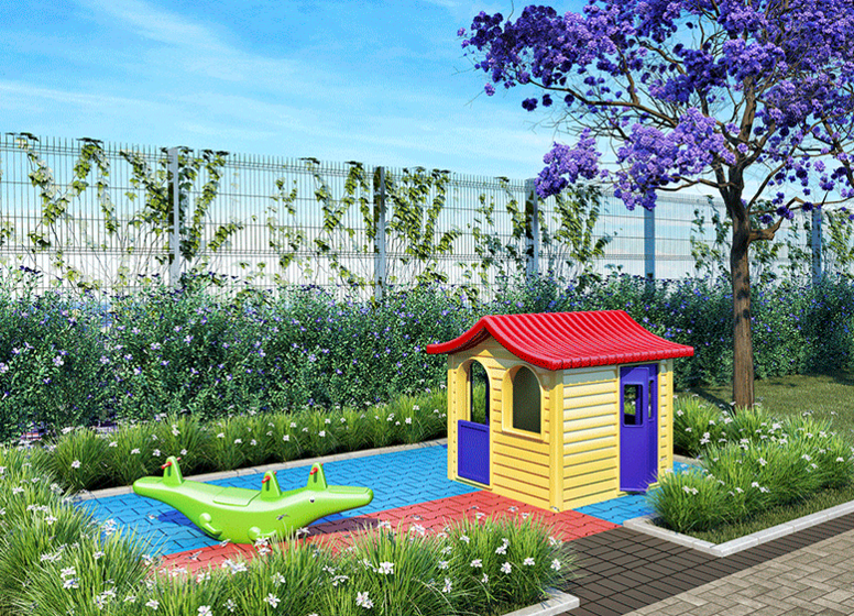 Playgroud - Perspectiva Ilustrada - Plano&Jardim do Carmo II