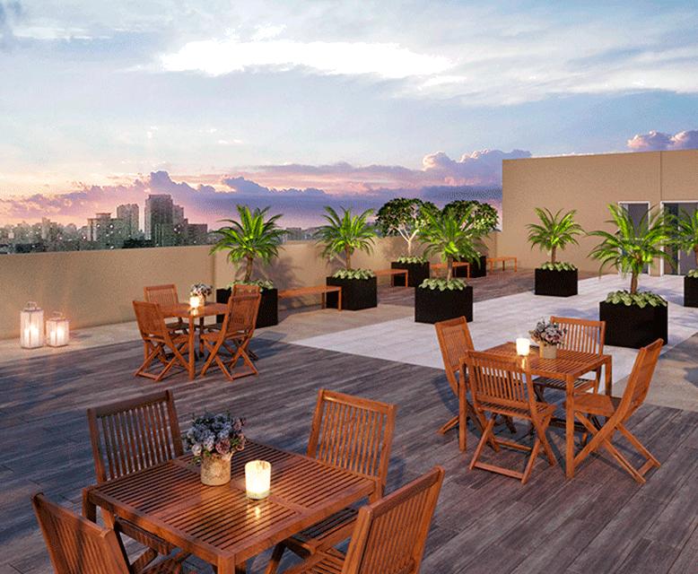Rooftop - Perspectiva Ilustrada - Plano&Brás
