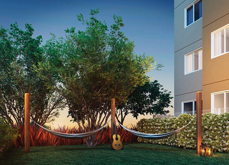 Pomar Redário - Perspectiva ilustrada - Sppace Jardim Botânico